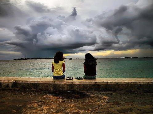 silent conversation Best Example of Rain Photography
