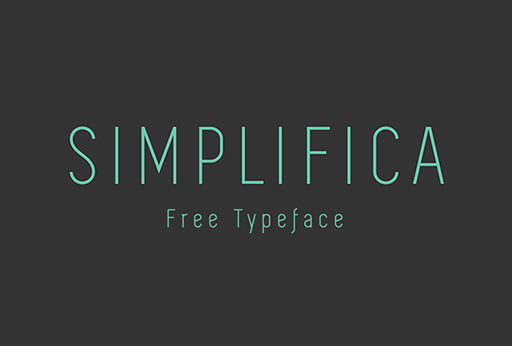simplifica Best Free Font for Hipsters