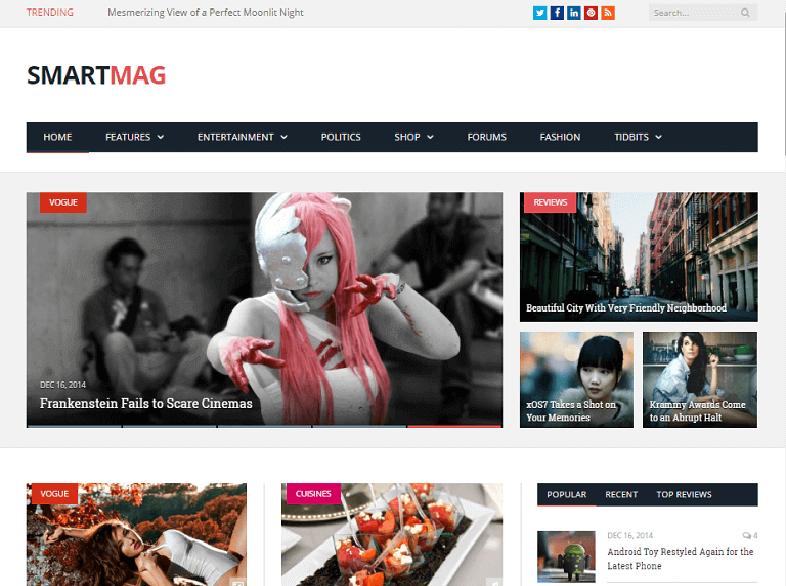 smartmag Magazine WordPress