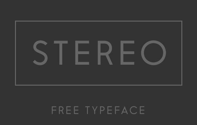 stero Font 2017