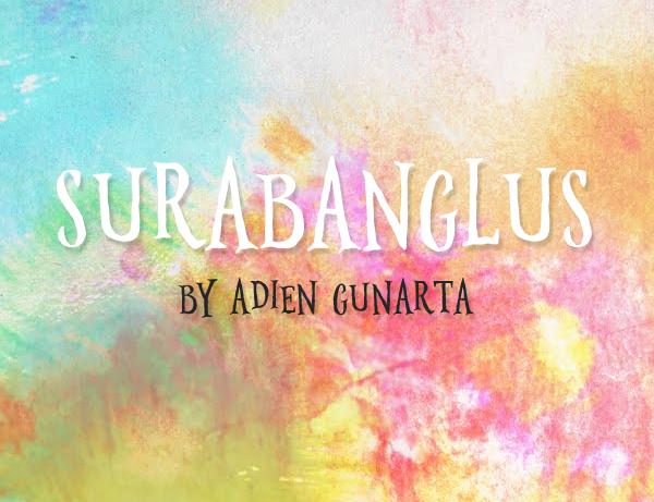 surabanglus Free Font 2017 for Graphic Designers