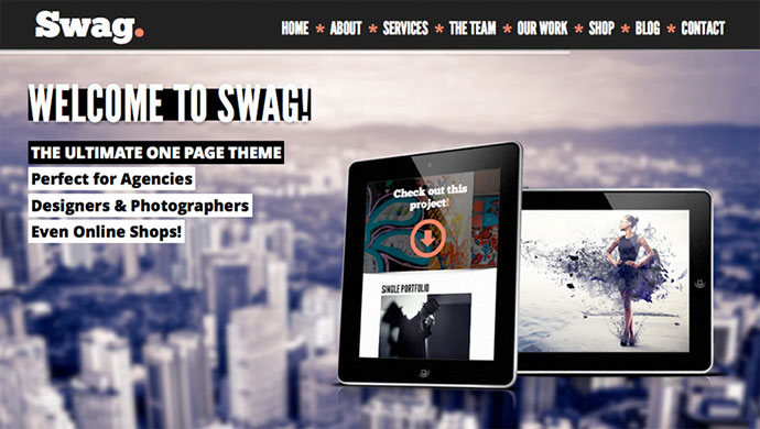 swag Scrolling HTML5
