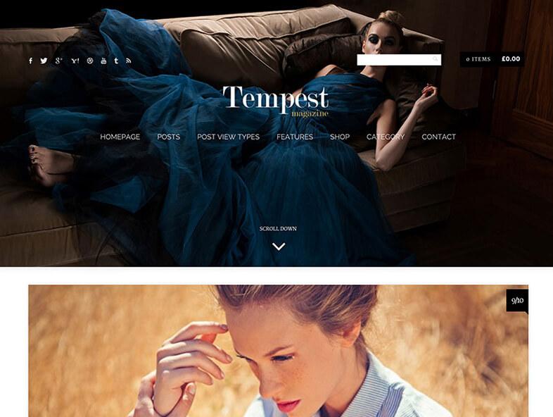 tempest Responsive Magazine