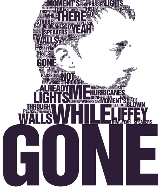 thom yorke Example Of Text Art and Typography