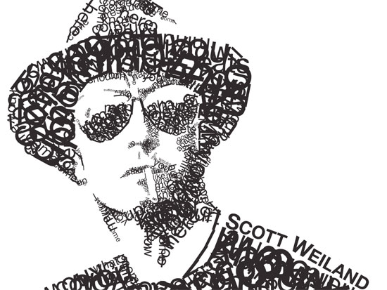 weiland Example Of Text Art and Typography