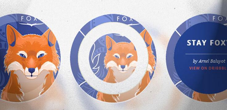 Circle transitions Unique Image