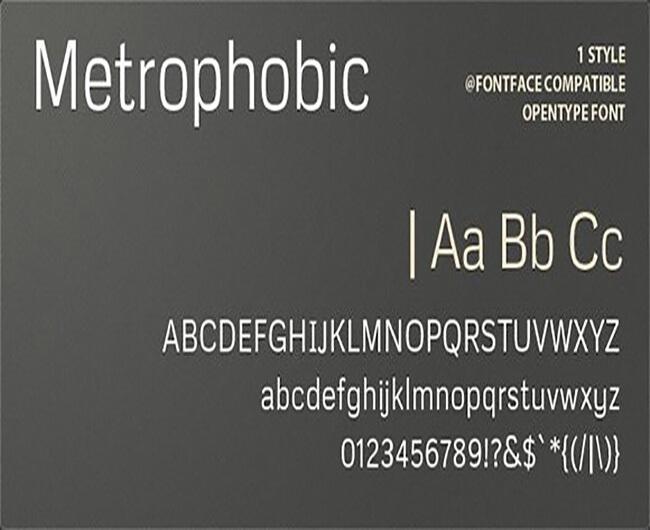 Metrophobic Popular Geometric