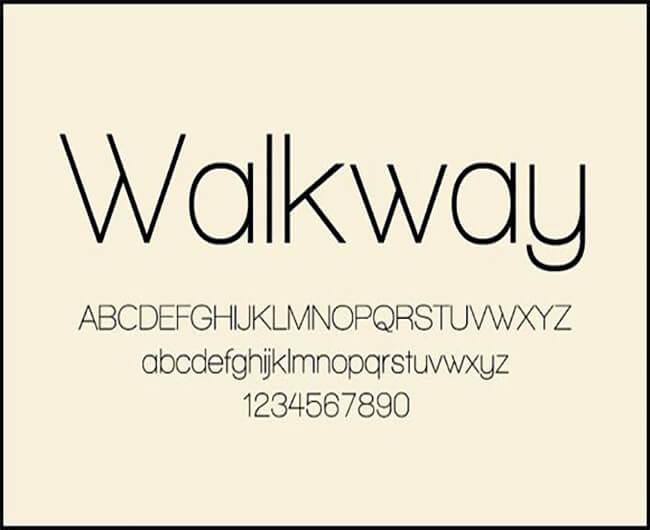 Walkway Free Download