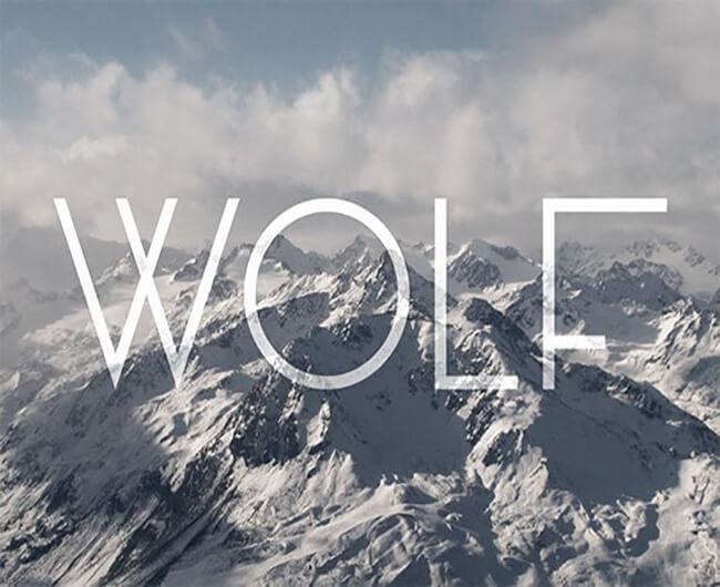 Wolf Geometric Font