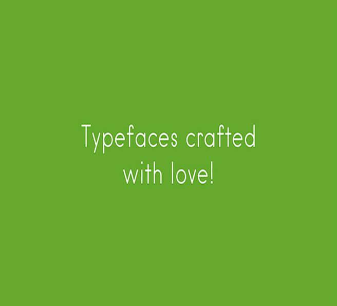 hanken Popular Geometric Font