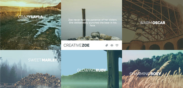 ideas Image Hover