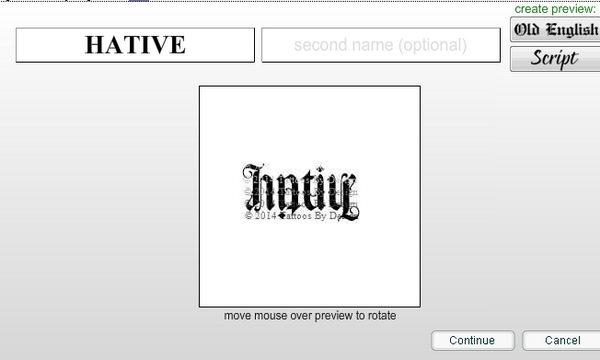 Free ambigram creator online